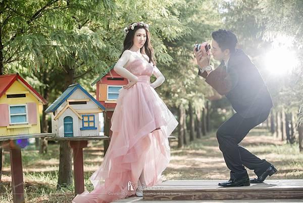外拍婚紗顏色