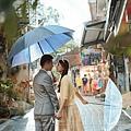 雨天婚紗外拍