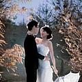 婚紗照雨天備案