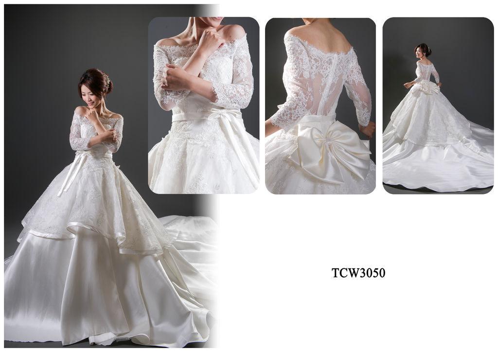 手工婚紗出租-手工白紗TCW3050.jpg