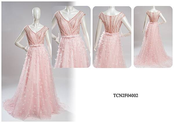 TCN2F04002手工禮服出租-手工婚紗推薦
