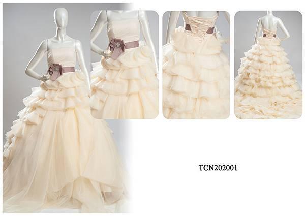 TCN202001手工禮服出租-手工婚紗推薦
