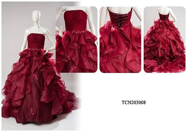 TCN203008手工禮服出租-手工婚紗推薦
