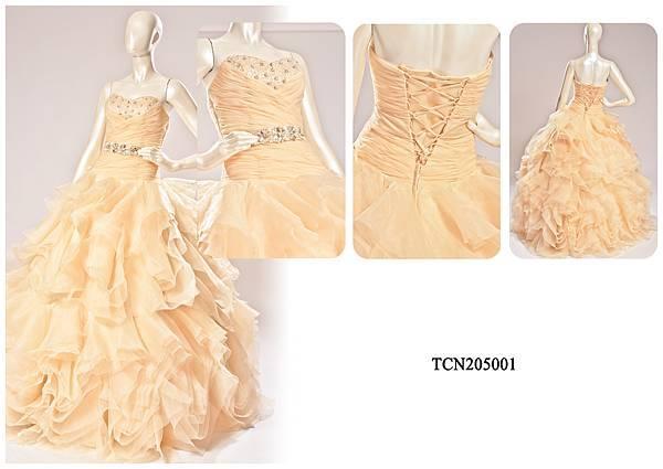TCN205001手工禮服出租-手工婚紗推薦
