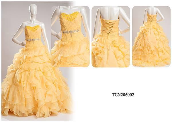 TCN206002手工禮服出租-手工婚紗推薦