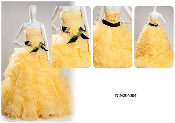 TCN206004手工禮服出租-手工婚紗推薦