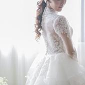 手工婚紗:推薦新款手工白紗