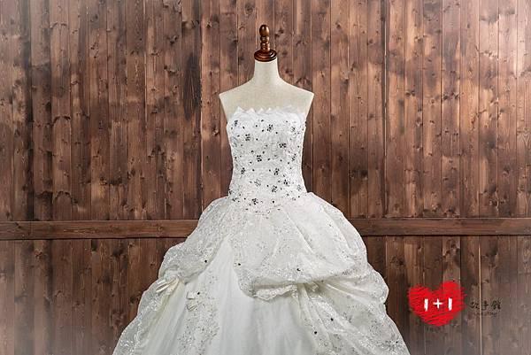 手工婚紗:花漾珠工禮服