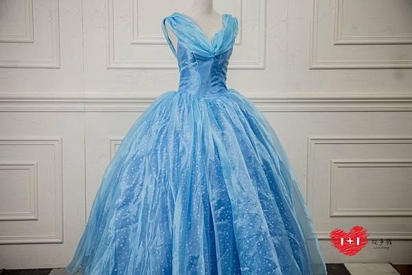 手工婚紗出租:脫俗公主晚禮服