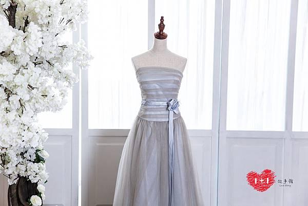 手工婚紗出租:眾星拱月晚禮服