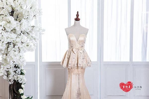 手工婚紗出租:真情誓約的晚禮服