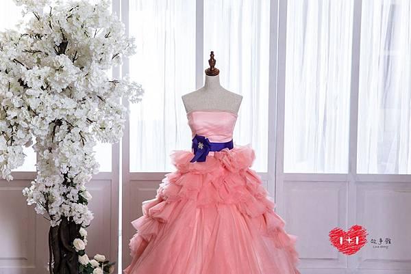 手工婚紗:世紀之戀晚禮服