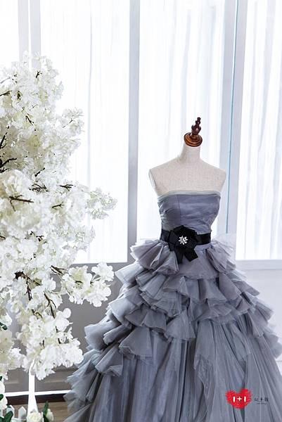 手工婚紗:愛的禮物晚禮服