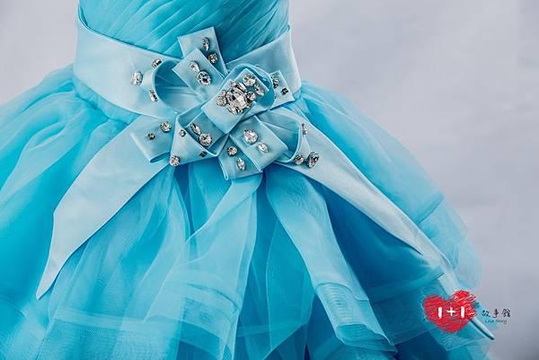 手工婚紗推薦:典雅公主婉約晚禮服