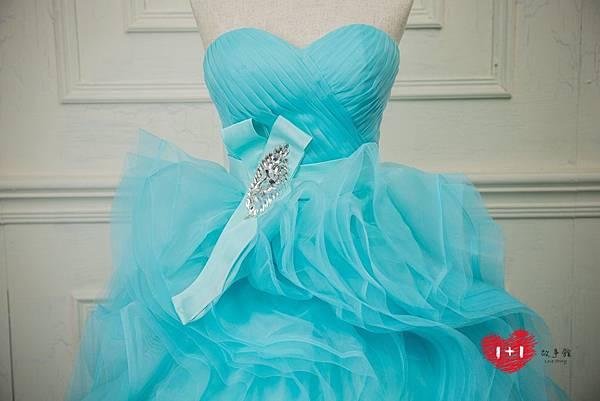 手工婚紗:植物系拼接高冷晚禮服