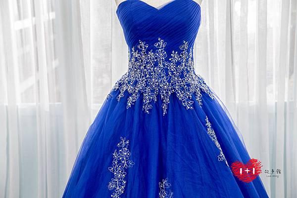 手工婚紗:小惡魔系露背禮服晚禮服