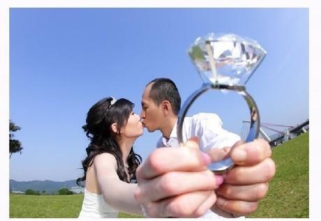700克拉求婚大鑽戒