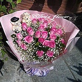 [AC012] 只想對你說__22朵紫玫瑰花束$1799.jpg
