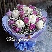 [AC032] 紫有真情_11朵紫玫瑰花束$1499.jpg