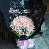 [AC043] 叮噹傳情_36朵粉玫瑰花束$2290.jpg