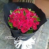 [AC056] 永遠誓言_33朵紅玫瑰花束$1850.jpg
