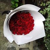 [AE013]青春年華__33朵紅玫瑰花束$1850.jpg