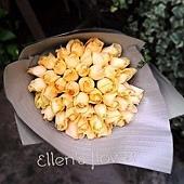 [AE015]星光無限__42朵香檳玫瑰花束$2450.jpg