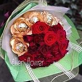 [AE028]你最珍貴__20朵紅玫瑰花束$1599.jpg