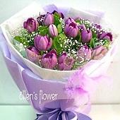 [AE035] 紫有你 _20朵紫鬱金香花束$2200.jpg