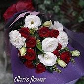 [AE042] 擁抱天堂 __11朵紅玫瑰花束$1299.jpg