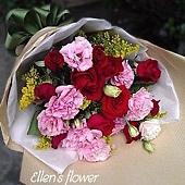 [AE052] 見證愛情__11朵紅玫瑰花束$1299.jpg