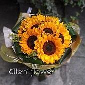 [AE087]黃金海岸__10朵向日葵花束$1499.jpg