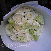 [AE104] 給你的歌_18朵白玫瑰花束$1599.jpg