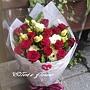 [AC001] 紅色奇蹟__15朵紅玫瑰花束$1450.jpg