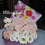[AC029] 愛的禮物_15朵粉玫瑰花盒(送復古花漾零錢包)$1599.jpg