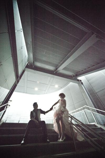 【高雄婚紗】【景點推薦】【婚紗照】美麗島捷運站-盈如♥忠勝