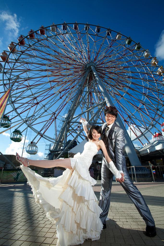 高雄主題婚紗-夢時代