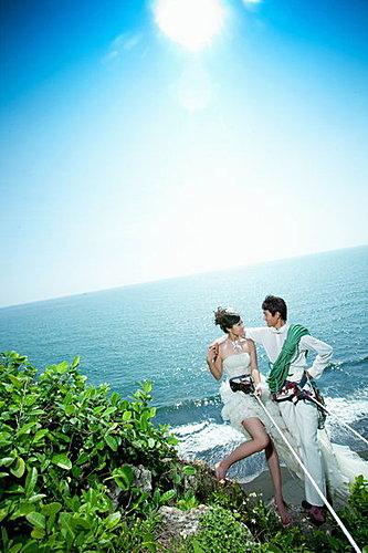 【高雄】【作品集-攀岩婚紗照】【主題式婚紗】