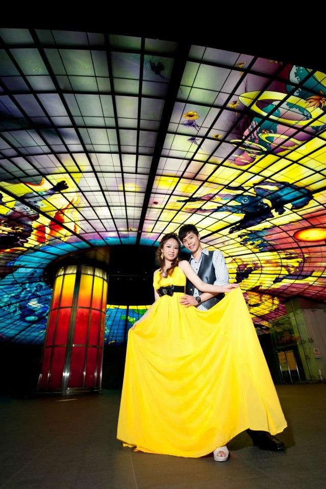 【高雄婚紗】【景點推薦】【婚紗照】美麗島捷運站