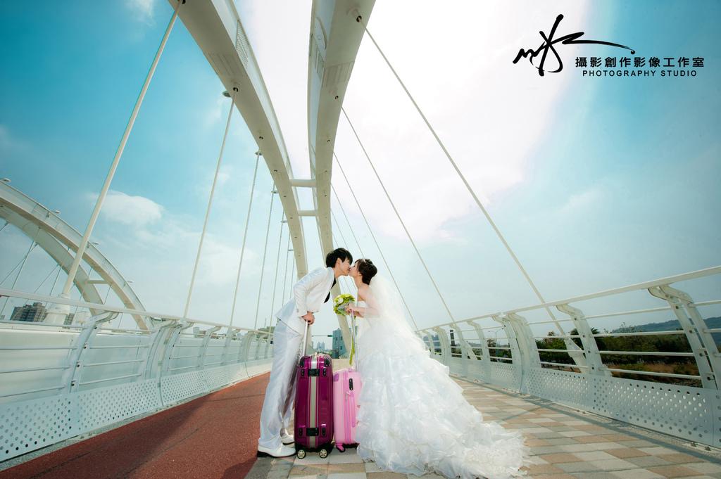 高雄婚紗景點-願景橋