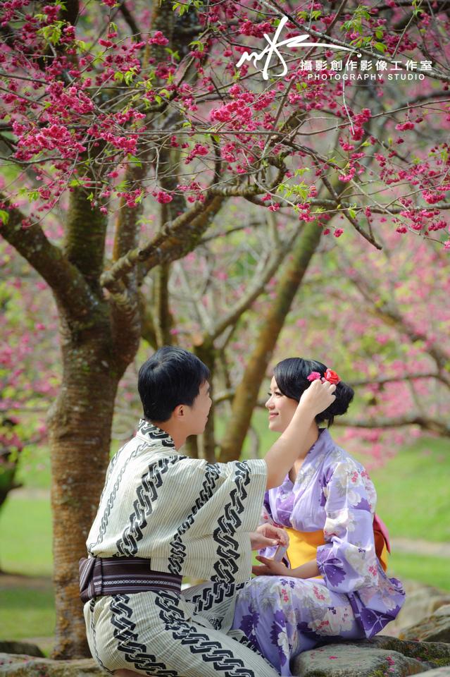 自助婚紗婚紗照-櫻花季-感謝榮輝&佳音推薦