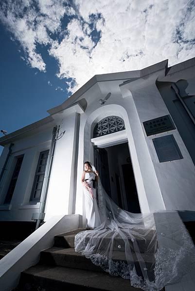 高雄婚紗景點推薦:旗津燈塔