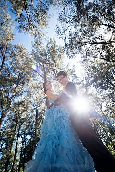 高雄婚紗景點推薦:旗津森林