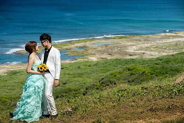 墾丁婚紗攝影外拍景點-龍潭斷崖