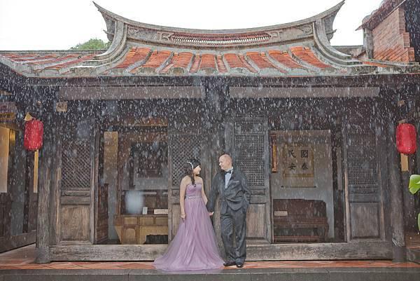 中西合碧,完美婚禮