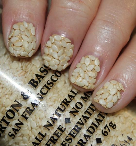 Sesame-Seed-Nails