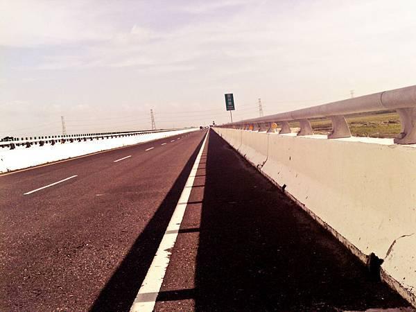 無止盡的西濱大橋