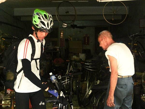 阿伯的腳踏車店