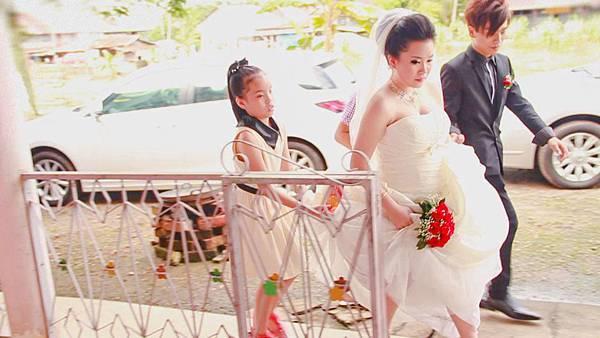 新婚快樂!堂妹出嫁了!