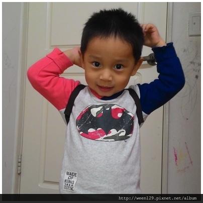 兩歲的弟弟